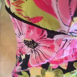 Lily Dresses - Floral pink dress